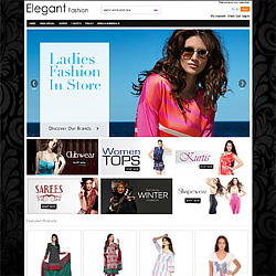Ecommerce Website for Elegant Fashion
